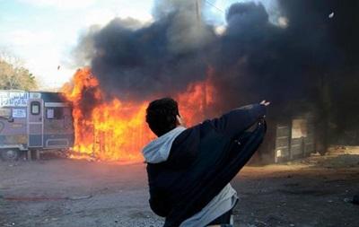 Снос лагеря беженцев в Кале перерос в беспорядки