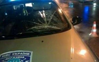 Во Львове машина госохраны сбила женщину