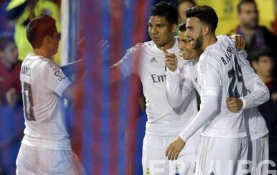 Реал на выезде обыграл Леванте