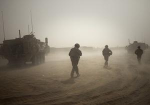 Британские военные в Афганистане перейдут под командование США
