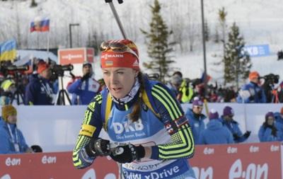 Украина объявила состав на спринтерские гонки чемпионата по биатлону