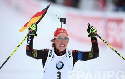 Біатлон: Лаура Дальмаєр принесла Німеччині перше золото, Підгрушна - п ята