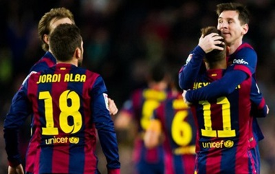 Ейбар - Барселона 0:4. Онлайн трансляція матчу чемпіонату Іспанії