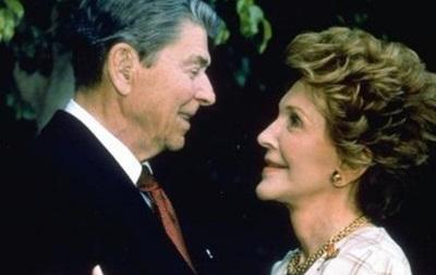 У Каліфорнії померла вдова Рональда Рейгана