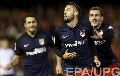 Валенсія - Атлетіко Мадрид 1:3. Відео голів та огляд матчу чемпіонату Іспанії
