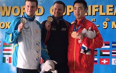 Украинец добывает серебро на этапе Кубка мира с пулевой стрельбы