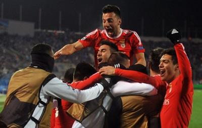 Бенфика вышла в четвертьфинал Лиги чемпионов