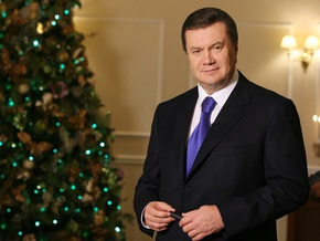 Янукович: Желаю нам всем здоровья, сил и веры