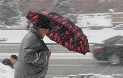В Україну повернуться дощі з мокрим снігом