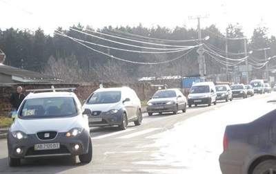 У Вінницькій області активісти перекрили трасу