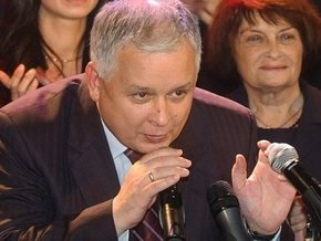 Качиньский пообещал развивать проект Одесса-Броды-Плоцк
