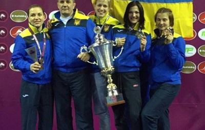 Украинская сборная - лучшая в Европе в женской борьбе