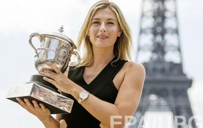 Французька тенісистка: Шарапова не заслужила того, що встигла виграти