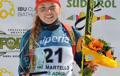 Біатлон: Українка Бєлкіна виграла етап Кубка IBU