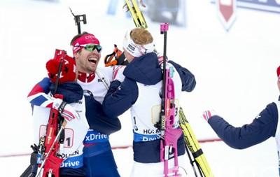 Біатлон: Норвегія робить золотий дубль в естафетних гонках ЧС