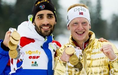 Франція виграла медальний залік чемпіонату світу з біатлону