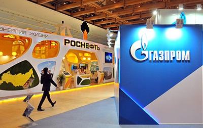 Роснефть наздоганяє Газпром за капіталізацією - Bloomberg