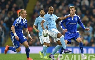 Динамо сыграло вничью с Манчестер Сити и попрощалось с Лигой чемпионов