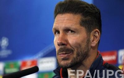 Тренер Атлетико: Пенальти не тренировали