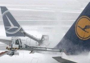 В аэропорту Франкфурта застряли тысячи пассажиров