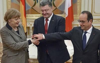 Порошенко завтра встретится с Меркель и Олландом