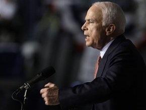 Маккейн сократил отрыв от Обамы до 4%