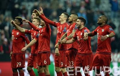 Баварія встановила два рекорди Ліги чемпіонів