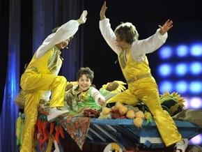 Фотогалерея: Детское Евровидение-2009 в Киеве
