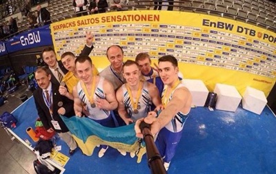 Українські гімнасти стали другими на турнірі в Німеччині