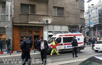 У центрі Белграда пролунав вибух