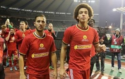 Гравці збірної Бельгії висловили співчуття у зв язку з терактами в Брюсселі