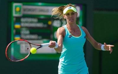 Цуренко в упорном матче прошла во второй круг турнира в Майами