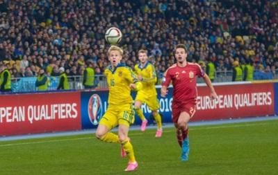 ФФУ: Зінченко не полетів з молодіжною збірною до Австрії через застуду