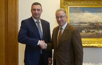 Віталій Кличко зустрівся з мером Роттердама