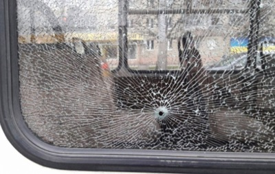 Во Львове обстреляли маршрутку