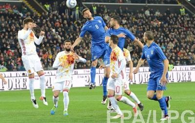 Товариські матчі: Італія зіграла внічию з Іспанією, поразки Швеції і Чехії