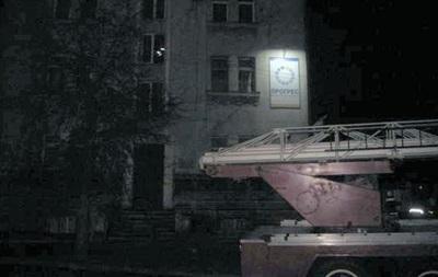 У Рівному підпалили будівлю з офісами партій