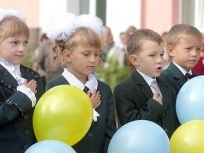 В Украине в этом году в первый класс пойдут на 13 тысяч детей больше, чем в прошлом