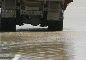 В Житомирской области затопило три моста на дорогах