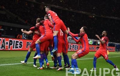 Англия, проигрывая по ходу матча два мяча, сумела обыграть Германию