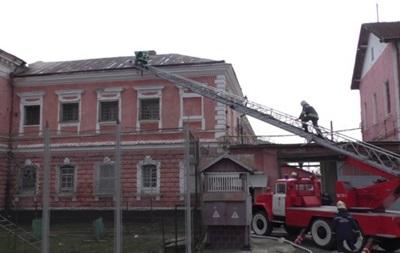 В Черновцах горел СИЗО