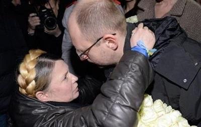 Тимошенко назвала Яценюка невігласом