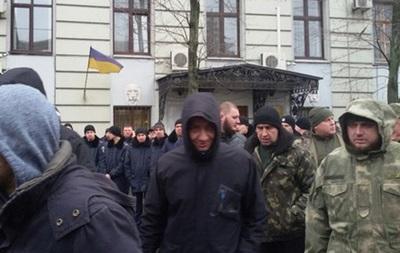 У Харкові побилися на мітингу проти Шокіна