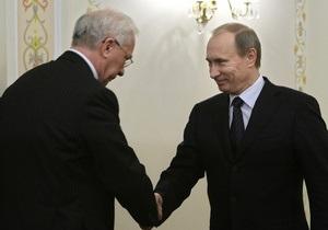 Азаров и Путин смогут обсудить создание трехстороннего СП по транзиту российского газа