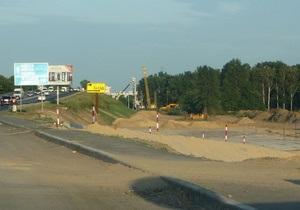 В Киеве началась реконструкция транспортной развязки на Жулянском путепроводе