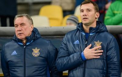 Шевченко: Оціню гру нашої збірної на тверду четвірку