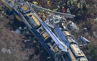 В Германии назвали причину столкновений поездов в феврале