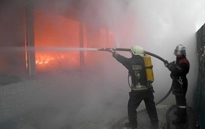 У Києві частково згорів радіоринок