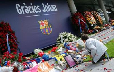 Барселона вшанує пам ять Йохана Кройфа під час матчу з Реалом