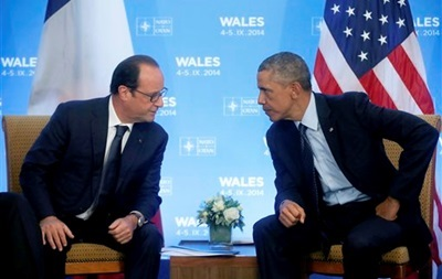 Обама проведет встречу с Олландом в Вашингтоне